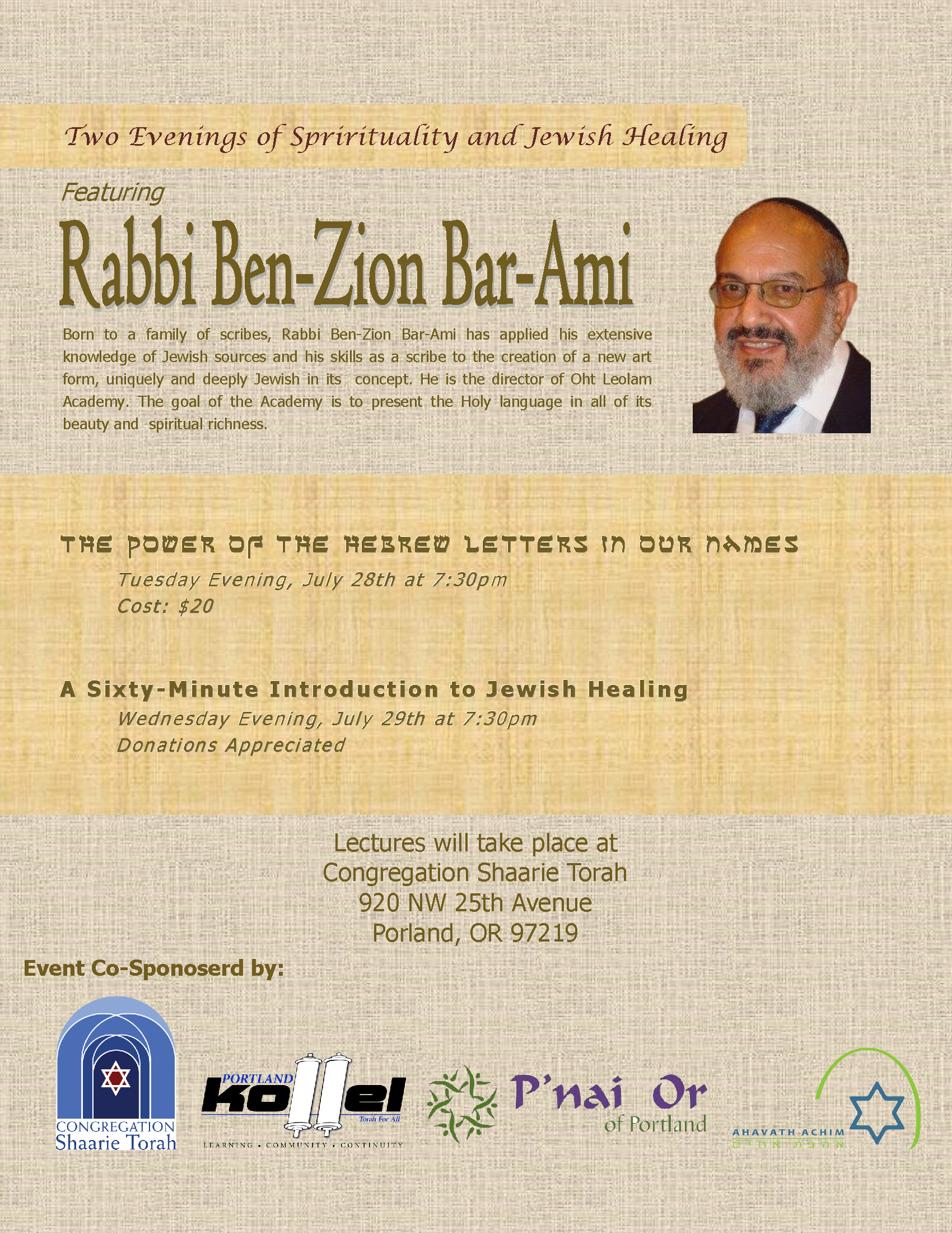 Rabbi Bar Ami Flyer v2
