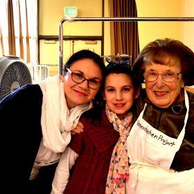 3 generations of Hamentashen